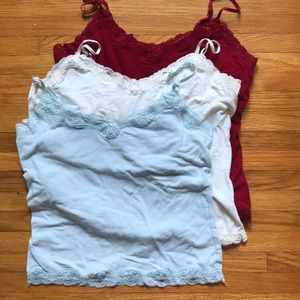 Lot of 3 Mossimo Tank Tops